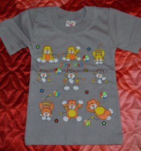 Новая детская футболка
