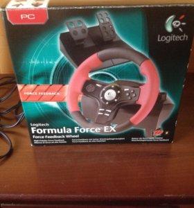 Руль Logitech formula force EX