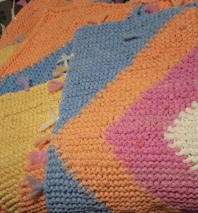 Вязанные коврики 4 шт