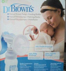 Молокоотсос фирмы Dr Brown's