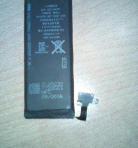Батарейка на айфон 5с или 6с