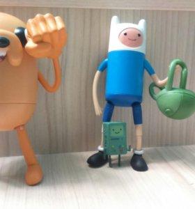 Игрушки Fin и Jake
