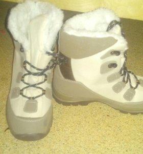 Новые Зимние женские ботинки