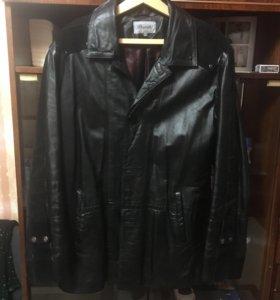 Куртка мужская , кожа натуральная 50,52 размер