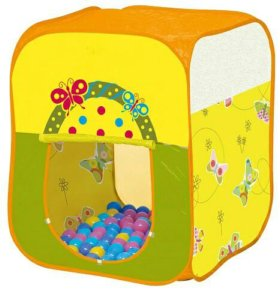 Ching-ching 100 шаров, бабочки, квадрат, доставка