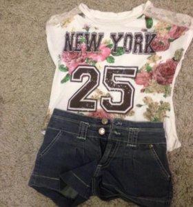 Футболка и джинсы (костюм)