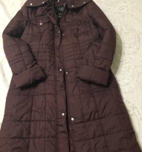 Пальто стеганое новое