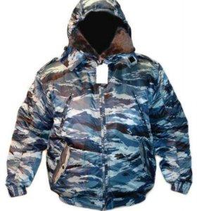 Куртки камуфляж зимние
