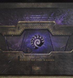 Коллекционеры издание Starcraft 2. Heart of swarm