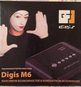 Портативный Full HD медиа плеер Digis M6
