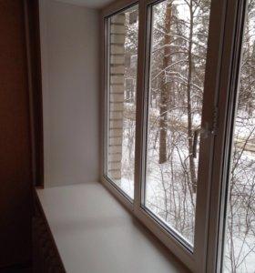 Окна пластиковые и алюминиевые