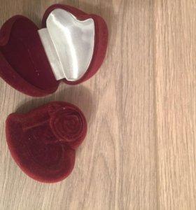 Коробочка (бархатный футляр) под кольцо