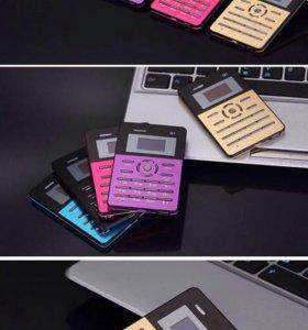 Мобильный телефон размером с кредитную карту