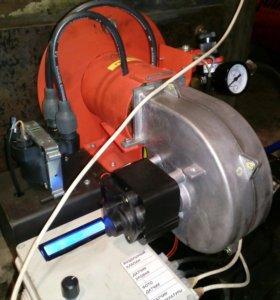 Автоматическая горелка на отработанных маслах