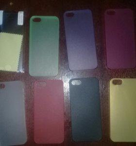 Чехлы, бампера и плёнки на iPhone 5 iPhone 5s