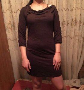 Платье -туника с открытой спиной