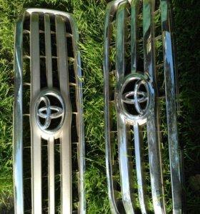 Решетки радиатора ланд крузер прадо