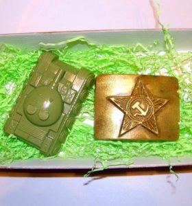 Набор подарочный из мыла на 23 февраля
