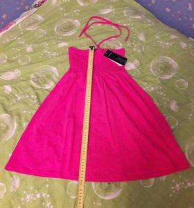 Новое 42 размер розовое платье