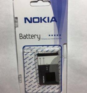 Аккумулятор для телефона Нокиа BL-5B, BL-4C