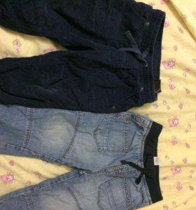 Фирменные штанишки с подкладкой