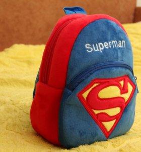 Новый плюшевый рюкзачок