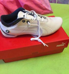 Новые кожаные кроссовки PUMA