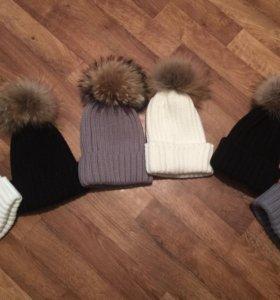 Новая шапка женская зимняя