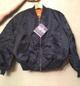 Куртка MA-1 vintage made in USA бомбер bomber