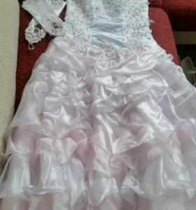 Платье на рост от 128до140.Нюр.