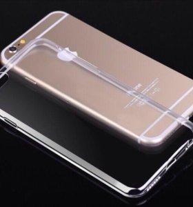 Силиконовый чехол на iPhone 6 / 6S