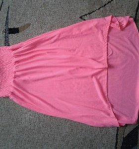 Платье сарафан юбка