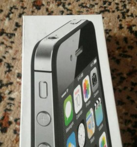Коробка от iphone 4 s