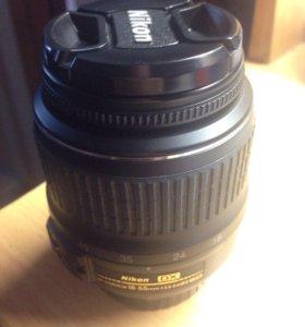 Объектив Nikon 18-55