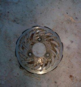 Тормозные диски на скутер стелс