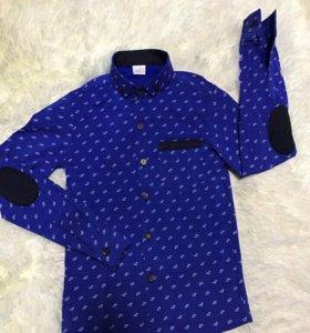 Рубашка детская 110р (34р) новая