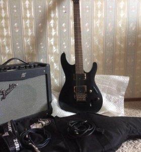Ibanez S520 + Fender Mustang I(v2)