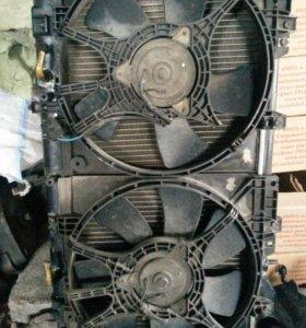 Диффузор радиатора субару subaru sf5 sf9