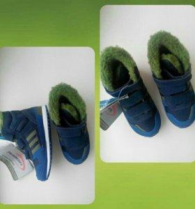 Новые теплые кроссовки Adidas