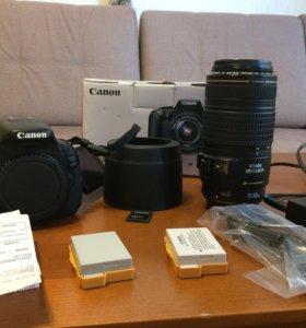 Canon EOS 600D с объективом canon ef 70-300mm
