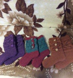 Домашние носочки-сапожки