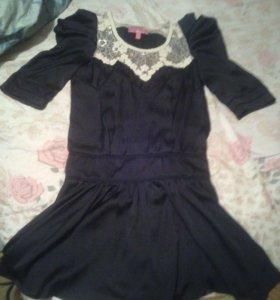 Платье, шёлк