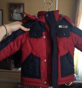 Куртка на мальчика рост 74см