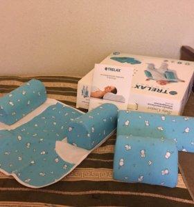 Подушка-трансформер ортопедическая для детей