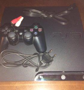 PlayStation 3 slim 320 GB вместе с играми