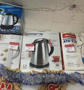 Чайник электрический Polaris новый