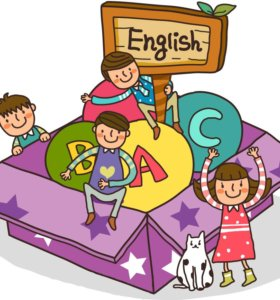 Уроки английского для детей.