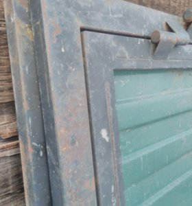 Ворота уличные с калиткой
