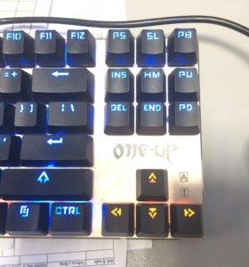 Клавиатура механически новая,one up