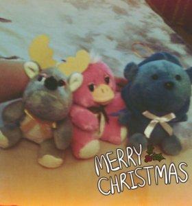 3 приятных игрушек